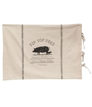 Picture of Tip Top Feed Farmhouse Stripe Queen Pillow Sham