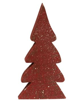 Picture of Distressed Wooden Christmas Color Trees, 3/Set