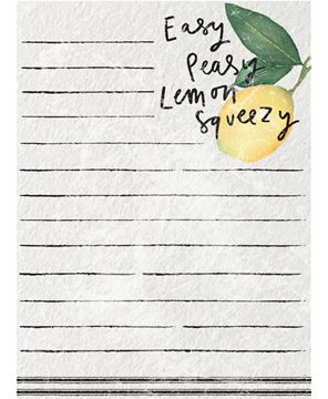 Picture of Easy Peasy Lemon Squeezy Mini Notepad