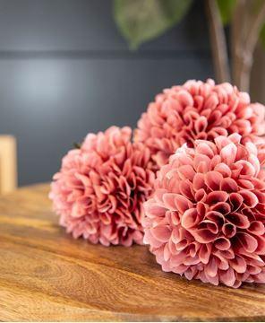 "Picture of Ball Chrysanthemum Spray, Mauve, 29"""