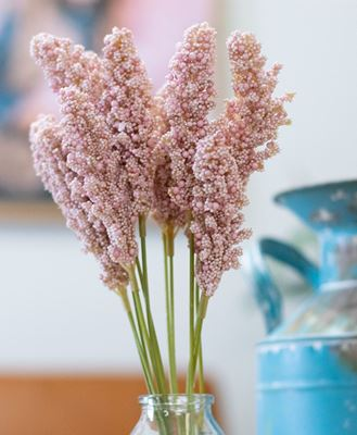 """Picture of Icker Flower Bouquet, 12"""", Light Pink"""