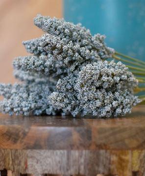 "Picture of Icker Flower Bouquet, 12"", Light Blue"