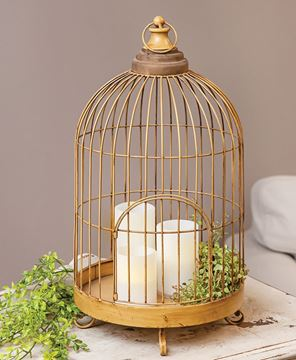 Picture of Antiqued Birdcage