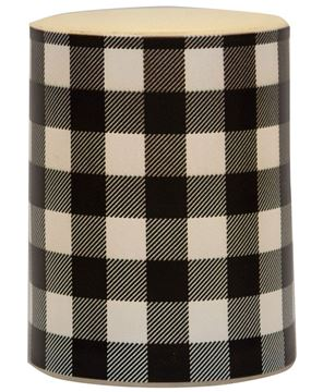 Picture of Black Large Buffalo Check Timer Pillar