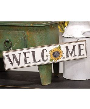 Picture of Sunflower Welcome Sign