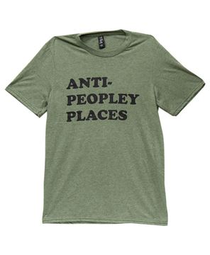 Picture of Anti Peopley T-Shirt, Heather City Green XXL