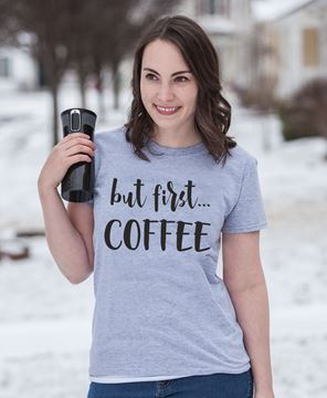 Picture of But First... Coffee Tee XXL