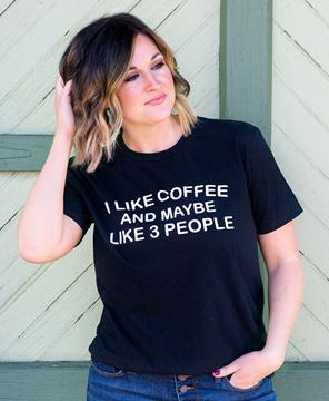 Picture of I Like Coffee Tee XXL