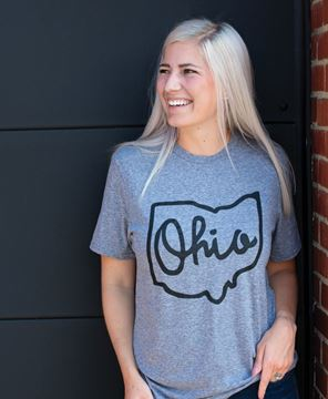 Picture of Ohio Tee - Heather Graphite XXL