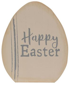 Picture of Happy Easter Wooden Egg Sitters, 2/Set