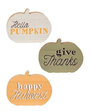Picture of Hello Pumpkin Chunky Sitters, 3/Set